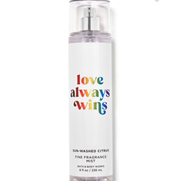 NEW fragrance mist from Bath and Body Works